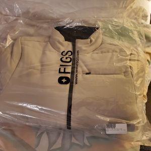 NWT FIGS Women's Reversible Puffer Jacket (XS)